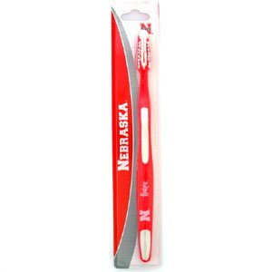 College Team Toothbrush (Nebraska Cornhuskers Toothbrush - NCAA College Athletics Fan Shop Sports Team Merchandise)