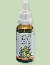 Ear Drops -Mullein/Garlic/St.John/Calendula (25mL) Brand: St Francis