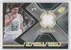 Wally Szczerbiak (Basketball Card) 2006-07 SPx - Flashback Fabrics #FF-WS