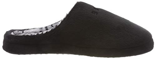 001 Black Mules Femme Esprit Stitchy Noir Chaussons XwYEq1A0x