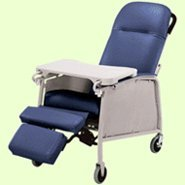 Lumex 574G Three Position Recliner Color: Imperial Blue ()