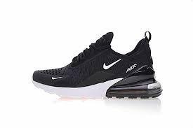 NIKE {AH8050-002} Men's Air Max 270 Shoe Black/White/Solar REDNEW! (12 D(M) US)
