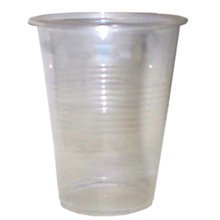Clear 9 oz Individually Wrapped Plastic Cups, 1000 Cups per Case