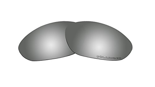 (Sunglasses Polarized Lenses Replacement for Oakley XX/Old Twenty XX (2000) Sunglasses Black Mirror Coatings)