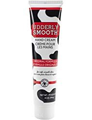 (Udderly Smooth Hand Cream 4 oz (Pack of 4) )