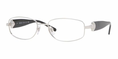 Versace 1149 1000 SILVER Designer Unisex Eyeglasses by Versace