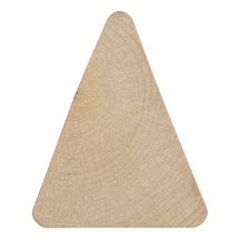 Triangle Cut Outs-Bag of 25 by Craft Parts
