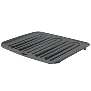 Rubbermaid Large Antimicrobial Drain Board - Black