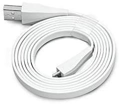 Original USB Charging Cable for Logitech UE Boom/Megaboom/Ultimate Ears MEGABLAST Speaker White