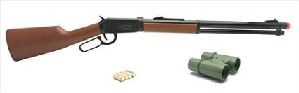New Ray 66096 Winchester Traditional Model 94 Playset, Wild Hunting ()