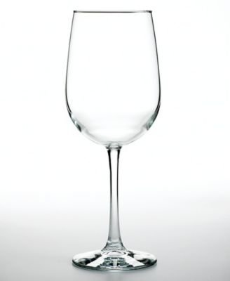 The Cellar Basics Large White Wine Glasses, Set of 4 - 18.5 Oz (White Cellar compare prices)