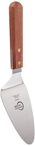 Mercer Culinary Praxis Rosewood Handle Pie Server, 5 Inch x 3 Inch, Brown