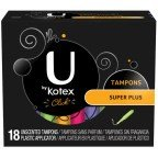 Kotex U Clck Tamp Spr Pls Size 18ct U By Kotex Click Tampon Super Plus 18ct