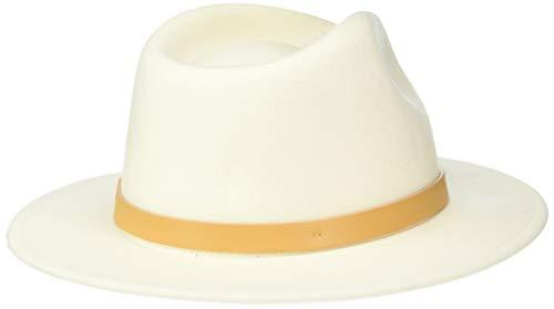 Brixton Men's Messer Medium Brim Felt Fedora Hat