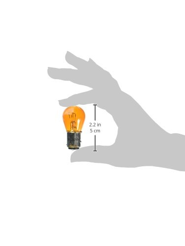 Eiko 1157NA 12.8//14V 2.1//.59A S-8 DC Index Base Lacquer Coated Halogen Bulbs