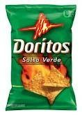 Doritos Salsa Verde Flavor Chips, 9.75 Oz Bags (Pack of 3)
