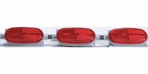 221201, LED Lens Insert - 2 Eyelets, Red