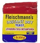 Instant Fleischmann's Yeast 20 x 454 g - 5 Lbs