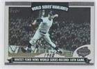 - Whitey Ford (Baseball Card) 2004 Topps - World Series Highlights #WS-WF