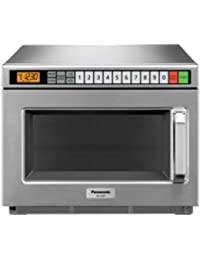 Panasonic 1700W Stainless Steel Compact Commercial Microwave Oven