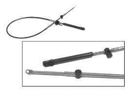 Mercury/Quicksilver Parts Premium Gen I Throttle And Shift Cable - 13'