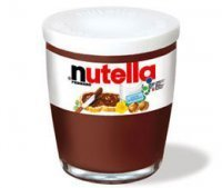 Ferrero Nutella (200g) In Glass Cup Authentic Italian Nutella Imported frOM Italy by Ferrero