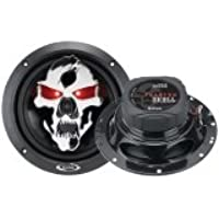 Boss Car Audio Video Phantom Skull 61 2 2way Speakers Iluminated Eyes 300 Watt Pmpo