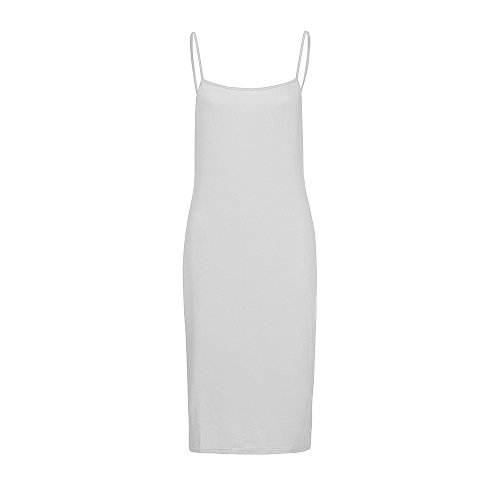 Goddessvan Women's Knitting Casual Short Sleeve Bodycon Tight Midi Dress Cocktail Party Pencil Dresses White ()