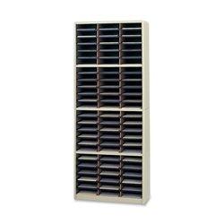 Safco Products 7131SA Value Sorter Literature Organizer, 72 Compartment, Sand