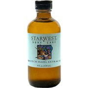 - Witch Hazel Extract - Hamamelis virginiana, 4 oz,(Starwest Botanicals)