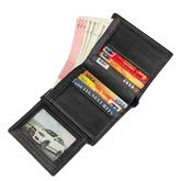 Color : Black, Size : S Elegdy Mens Wallet Leather Fashion RFID Top Layer Leather Short Wallet Mens Wallet Minimalist Fashion