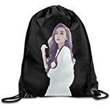 Show Time Angelababy Poster Backpack Gymsack Drawstring Sack Bag