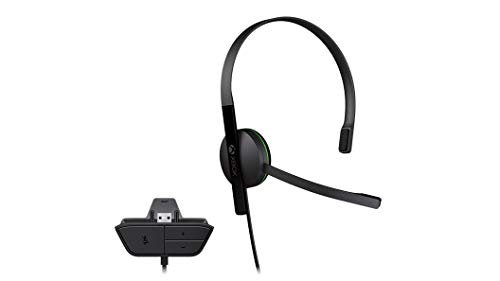 Xbox One Chat Headset (Bulk Packaging) (Expansion Port) (Certified Refurbished) (Port Chat)