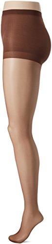 (L'eggs Women's Silken Mist Control Top Sheer Toe Run Resist Ultra Sheer Leg Panty Hose, Coffee, Q)
