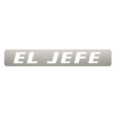 Pilot Automotive TT-088 El Jefe Stainless Steel Body Emblem ()