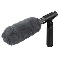 Sony ECM-VG1 Electret Condenser Short Shotgun Microphone, 40Hz to 20kHz Frequency (Short Shotgun Microphone)