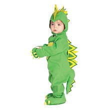 Toddler And Kids Spike The Dragon Costumes (Rubies Dragon / Dinosaur Child Romper Halloween Infant Costume size 6-12 months INFANT)