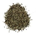 Black Butcher Cut Peppercorns, 14 Mesh, 50 Lb Bag