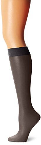 - Calvin Klein Women's Matte Ultra Sheer Knee High Sock with Comfort Top