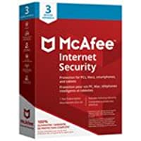 McAfee Internet Security 2018 - 3 Users - 1 Year
