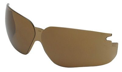 Uvex by Honeywell Espresso Polycarbonate Replacement Lens With Ultra-dura® Hard Coat And Anti-Scratch Coating For Use With Genesis® Safety Glasses - Espresso Replacement Lens