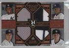 Andrew Miller; Luis Severino; Michael Pineda; Dellin Betances #39/75 (Baseball Card) 2016 Topps Museum Collection - Four-Player Primary Pieces Quad Relics - Copper #PPFQ-PSMB (Miller Primary Collection)
