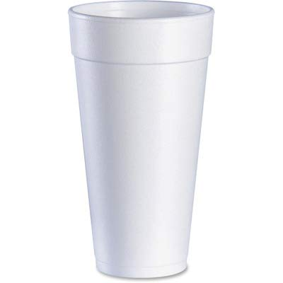 Dart 24J24 White Foam Cups, 24 Ounce (24J24DART) Category: Foam Cups