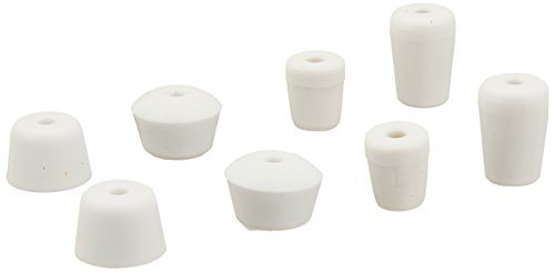 Stanley Hardware Doorstop Replacement Tip Kit, White, 8-Pack (Replacement Rubber Tip)