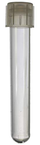 (Falcon 5 mL Round Bottom Polystyrene Test Tube with Snap Cap, 12x75 mm, Sterile, Pack of 25)