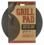 The Original Grill Pad DiversiTech GP-30-C, Round 30 Inches x 30 Inches, Brown
