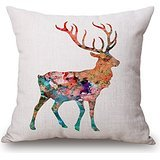 truck bed cover piston - pillow covers of deer,for play room,teens girls,festival,bf,seat,adults 18 x 18 inches / 45 by 45 cm(twice sides)