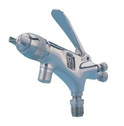 DeVilbiss EGA503390F EGA Suction/Pressure Feed Gun with 1.0mm Fluid Tip