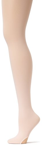 (Capezio Women's Ultra Soft Transition Tight,Ballet Pink,Small/Medium)