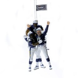 Team Beans San Diego Chargers Team Celebration Ornament - San Diego Chargers One Size